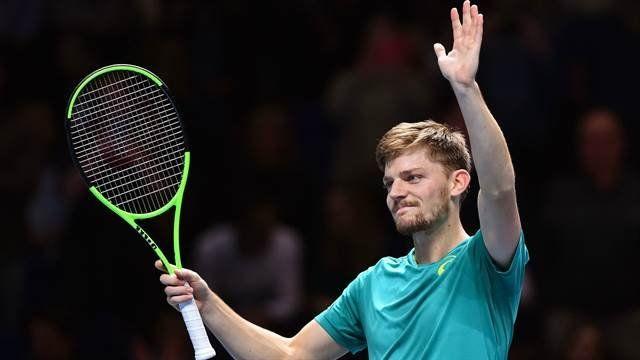 Goffin dio el golpe ante Federer en el Masters de Londres