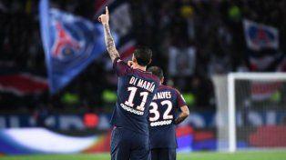 PSG sigue imparable en la Liga de Francia gracias a Di María y Pastore