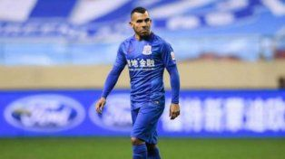 Tevez vio desde afuera la victoria de Shanghai Shenhua