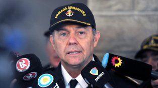 Gabriel González. El Jefe de la base naval Mar del Plata advirtió que no hay clara evidencia de que las siete llamadas fallidas hayan sido realizadas desde el submarino ARA San Juan