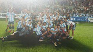 Argentina se lo dio vuelta a Brasil y se quedó con el Sudamericano Sub 15