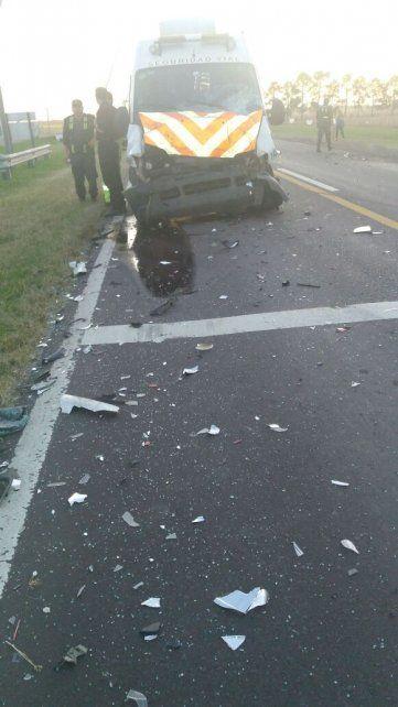 Violento y fatal: una mamá y su hija de 9 años fallecieron en un triple choque sobre la ruta 11