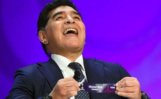 Maradona estará presente en el sorteo del Mundial