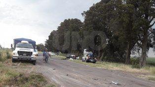 Un padre de familia perdió la vida en un accidente en el sudeste provincial