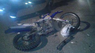 Murió en un accidente una adolescente de 16 años que viajaba en una motocicleta