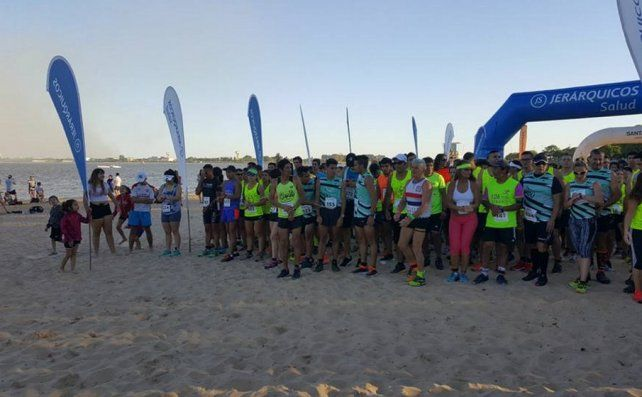 El Running Beach dejó todo su color en Santa Fe