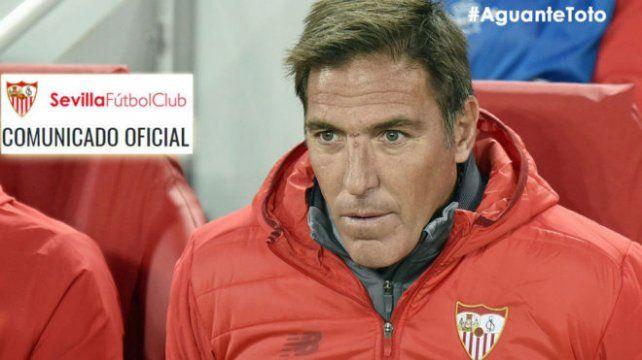 Sevilla emitió un comunicado oficial por la salud de Berizzo