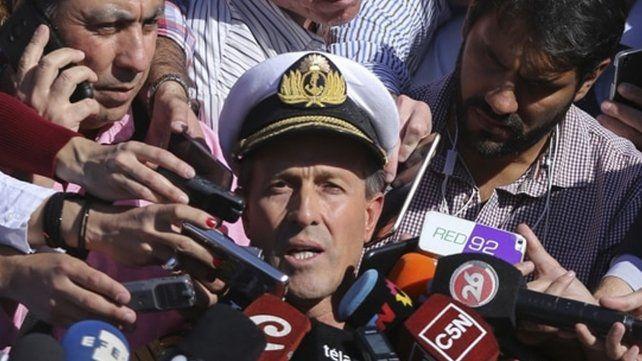 No hay ningún tipo de contacto con el submarino, la situación es crítica