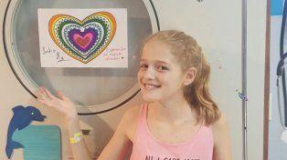 La carta de la familia de Justina: Se nos fue el sol