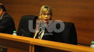 Evaluada. La magistrada Luna estuvo al frente del debate hasta el pasado 2 de noviembre