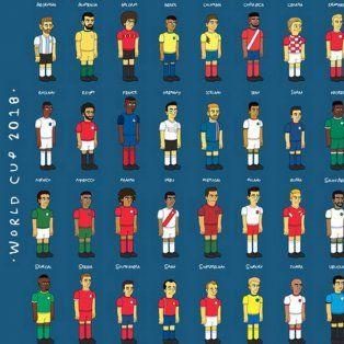 los 32 capitanes de las selecciones segun los simpsons