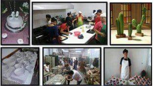 La escuela Nº2028 San Lorenzo muestra los trabajos de sus alumnos en una jornada especial
