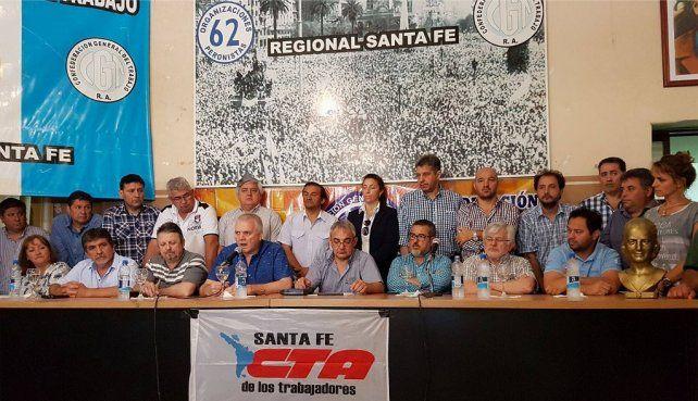Rotundo rechazo del Movimiento Obrero Santafesino al Consenso Fiscal