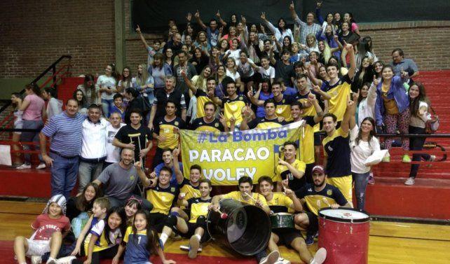 Paracao se consagró campeón de la Liga Santafesina de vóley Masculino