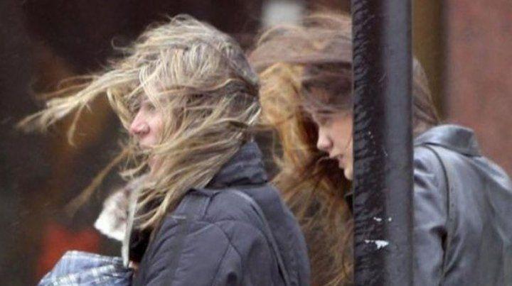 Emiten un alerta por vientos intensos en el norte provincial