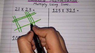 La multiplicación japonesa, el método para multiplicar que revoluciona las redes