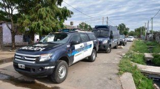 Megaoperativo con 30 allanamientos de la Policía Federal en Rosario