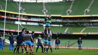 Los Pumas cierran el año en Dublín