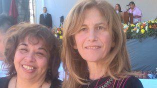 Ana Falco junto a Eugenia Valdéz