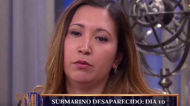 La grave denuncia que hizo la mujer del santafesino del ARA San Juan en la mesa de Mirtha Legrand