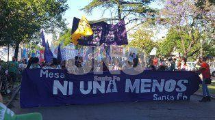 Santa Fe marchó contra la violencia a las mujeres