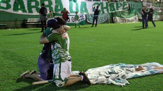 La fuerte acción de Chapecoense a un año de la tragedia que entristeció al mundo