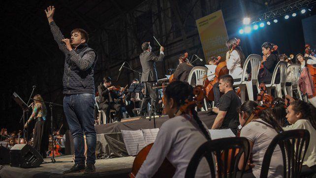El Proyecto SOS Música festejó sus 10 años junto a artistas locales
