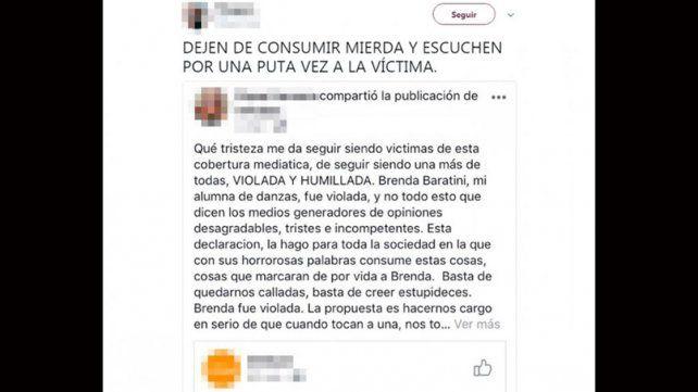 Las amigas de la joven que le cortó los genitales a su amante: Fue violada