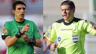 Andrés Merlos y Germán Delfino.