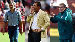 El puesto de entrenador, un trabajo inestable a dos fechas del receso