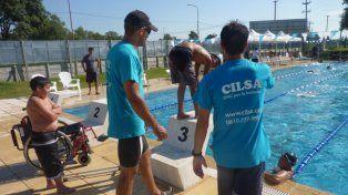 Se viene un torneo nacional inclusivo de natación en Cilsa