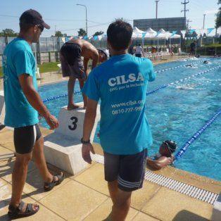 se viene un torneo nacional inclusivo de natacion en cilsa