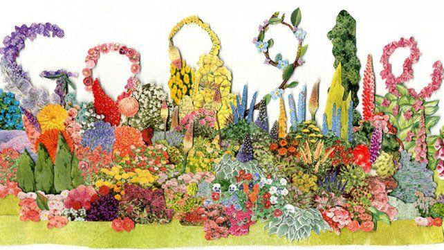 Google celebra con un floreado homenaje a una de las paisajistas más consagradas del mundo
