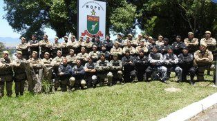 Dos integrantes de la Tropa de Operaciones Especiales realizaron un curso de capacitación en Brasil