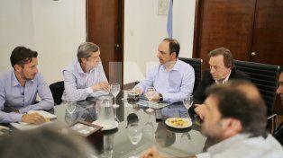 Aeropuerto metropolitano: Corral y Varisco se reunieron con autoridades del ORSNA