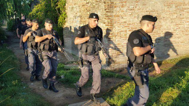 Detuvieron a dos vendedores barriales de drogas en Laguna Paiva