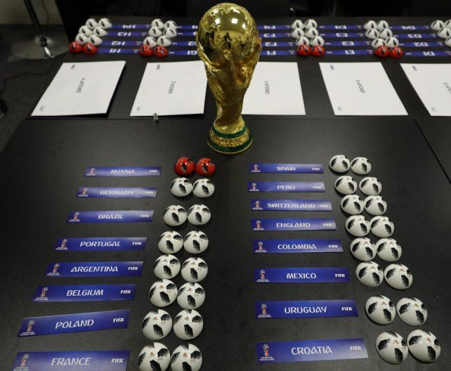 Mirá en vivo: Argentina conoce a sus rivales en el sorteo de Rusia 2018