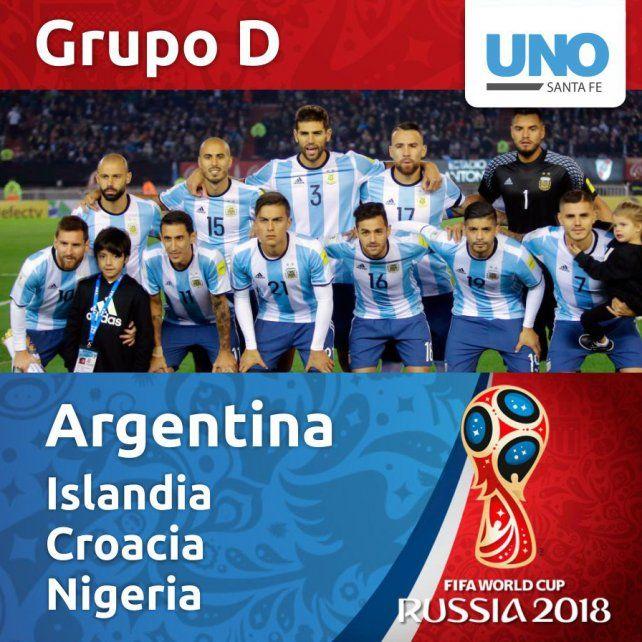 Argentina debuta con Islandia en el Mundial de Rusia