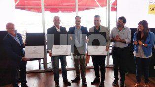 El trío humorístico fue reconocido como Embajadores Culturales de la Ciudad de Santa Fe