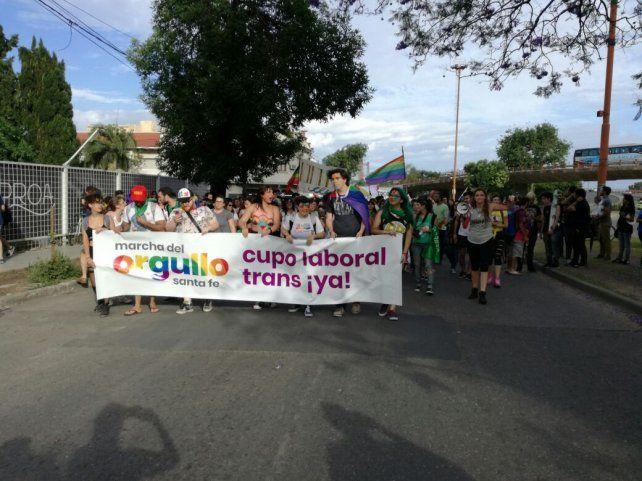 Se realizó en Santa Fe una nueva Marcha del Orgullo