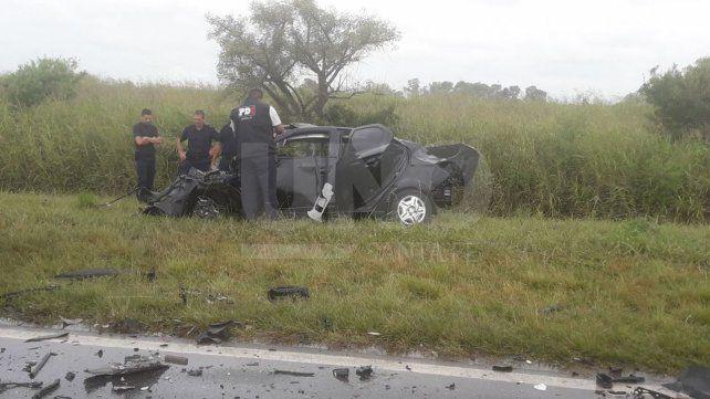 Murió la mujer gravemente herida al raíz del choque de su auto con un camión