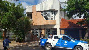 Dos heridos por una explosión en una droguería