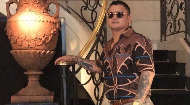 Otra polémica foto del Chino Maidana en homenaje a Pablo Escobar