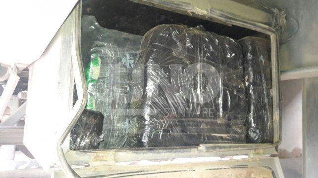 Gendarmería secuestró 189 kilos de hojas de coca en la provincia Santa Fe