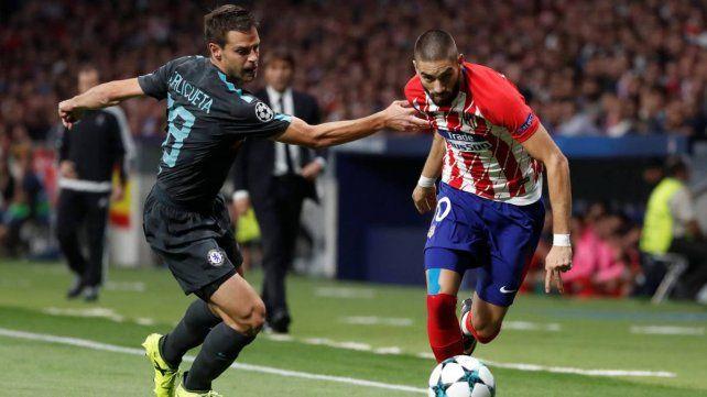 Atlético Madrid busca la hazaña en Inglaterra