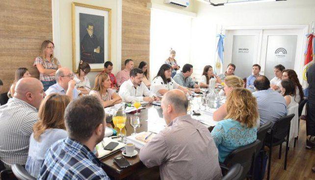 Presupuesto 2018: concejales se reunieron con funcionarios municipales