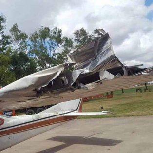 di palma sufrio un accidente en su avion y salvo su vida de milagro