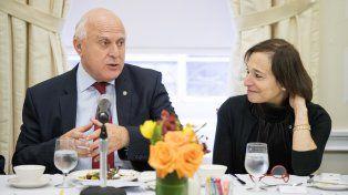 Lifschitz en EE.UU.: se reunió en el Consejo de las Américas y dialogó con empresarios
