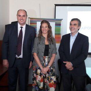 Foto de izquierda a derecha: Adalberto Callano, Soledad Rodríguez y Miguel González.