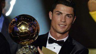 Cristiano Ronaldo sumó su quinto Balón de Oro